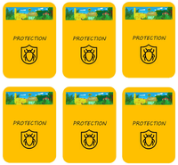 Les cartes PROTECTION